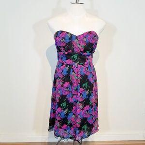 💎 RUBY ROX    strapless dress
